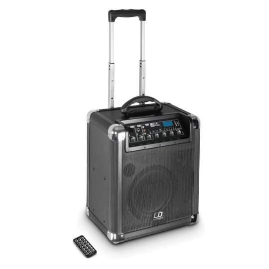 Road Jack 8 Transport Akku-Lautsprecher Mobile Mini-PA mit Bluetooth