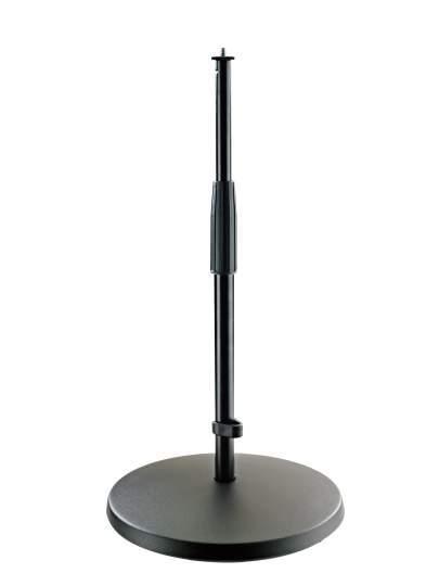 23323 Mikrofonstativ Halbhohes Stativ schwarz