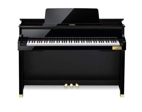 GP-510 BP schwarz hochglanz Grand Hybrid Piano