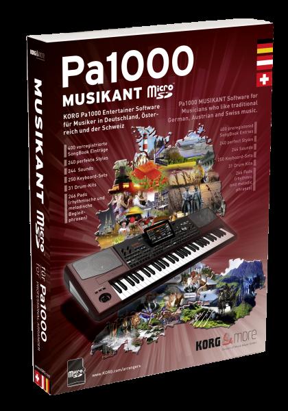 PA-1000 Musikant SD Dongle Micro SD Karte