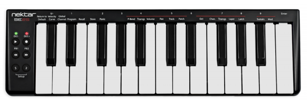 SE25 USB-MIDI-Controller-Keyboard