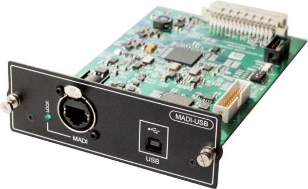 Si MADI/USB Karte 64 In & Out Verteilung auf MADI und USB