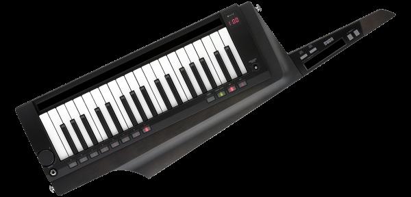 RK-100S2-TBK Keytar schwarz Umhängekeyboard