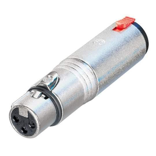 NA3FJ Adapter XLR female auf 6,3 mm Klinke female