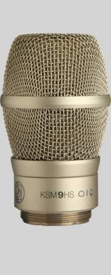 RPW182 KSM9HS Funkmikrofonkopf champagner