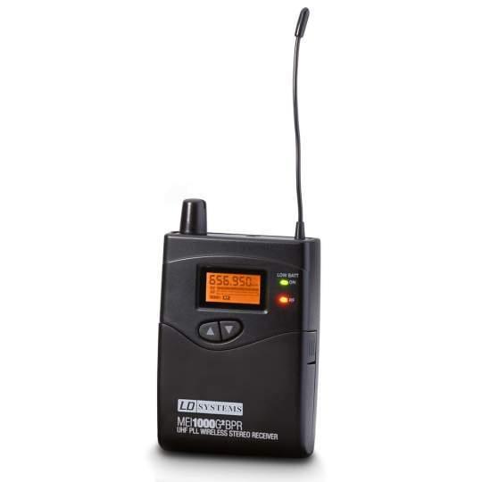 MEI 1000 G2 BPR B 6 Empfänger für LDMEI1000G2 In-Ear Monitoring System Band 6 655