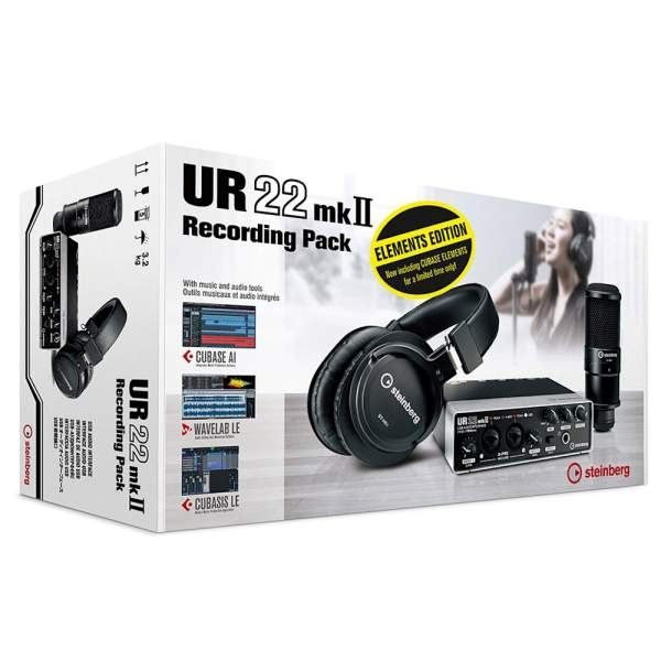 UR22 MKII Recording Pack Elements Edition
