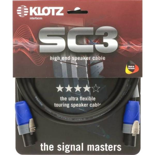 SC-3 Speaker Cable schwarz 5m