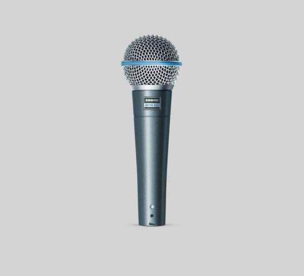 Beta 58A Dynamisches Gesangsmikrofon Supernieren-Richtcharakteristi