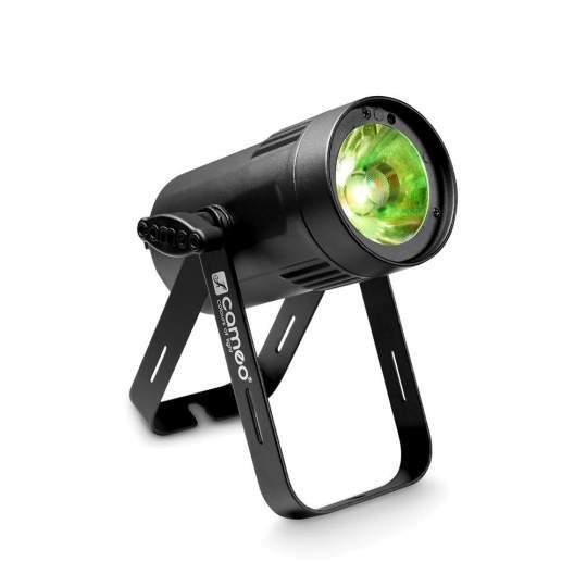 Q-Spot 15 RGBW BK schwarz Kompakter Spot mit 15 W RGBW Quad-LED