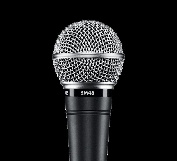 SM-48S mit Ein/Aus-Schalter Dynamisches Gesangsmikrofon Nierencharakteristik