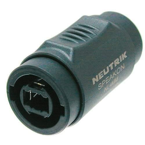 NL4MMX Adapter Speakon 2/4-Pol auf Speakon 2/4-Pol