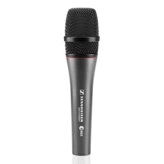 E 865S mit Schalter Kondensatormikrofon