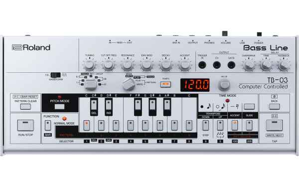 TB-03 BASS LINE SYNTH BASED ON TB-303 Boutique-Serie