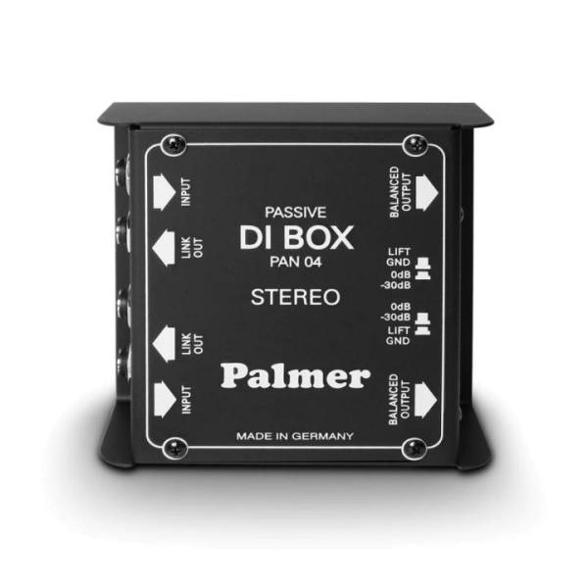 PAN 04 DI-Box 2 Kanal passiv