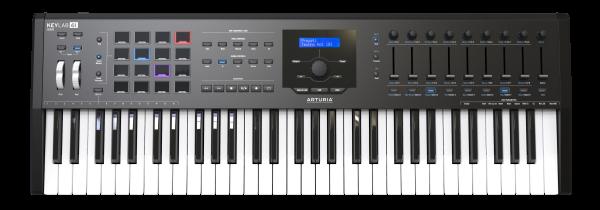 KeyLab MkII 61 Black Premium USB/MIDI Keyboard 61 Tasten Pads/Transport