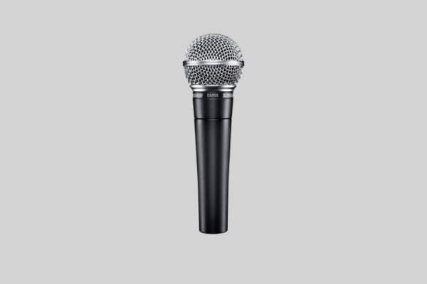 SM-58LCE Dynamisches Gesangsmikrofon Nierencharakteristik