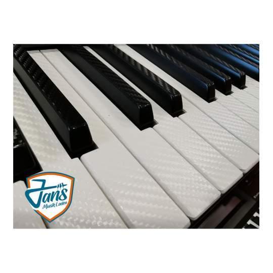 Schutzfolie Keyboard 61 wh/bk Keyboard Tastaturfolie