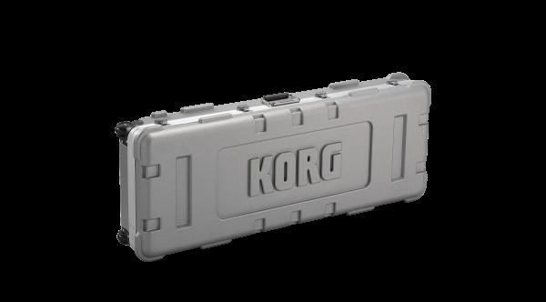 Kronos 2-61 Koffer mit Rollen, Tragegriff Schwarz