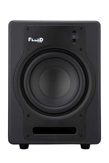 F8S Studio Sub-Woofer schwarz 200-Watt aktiv