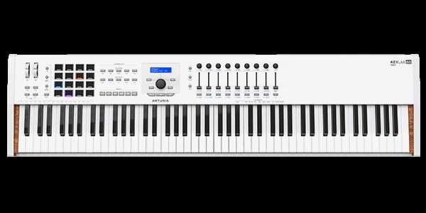KeyLab 88 MkII white Premium USB/MIDI Keyboard 88 Tasten Pads/Transport