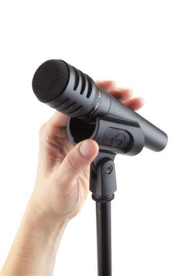 Mikrofonklammer schwarz