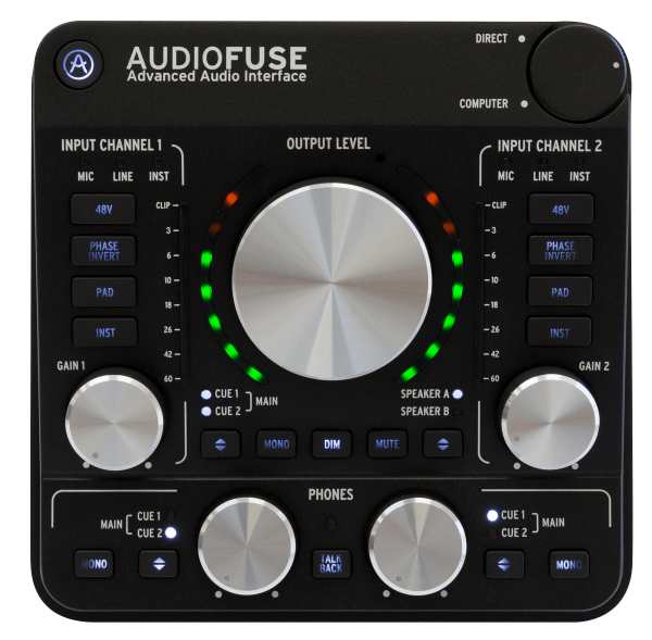 AudioFuse Rev 2 High-End Audio-Interface