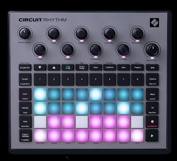 Circuit Rhythm Sampler / Sequenzer