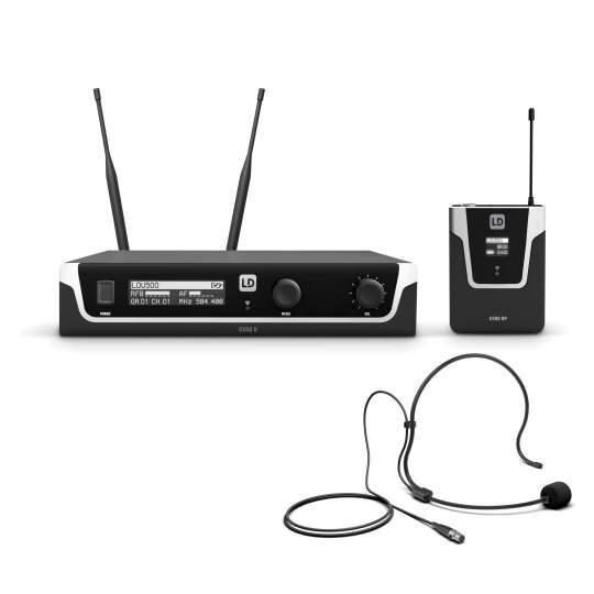 U506 BPH Funkmikrofon System mit Bodypack und Headset