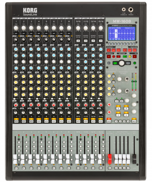 MW-1608 Mixer, Hybrid, 16 Kanäle