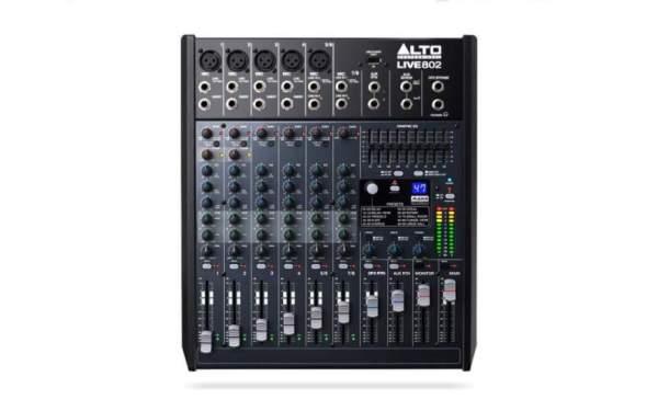Live 802 analog Mixer inkl effekten und USB Player