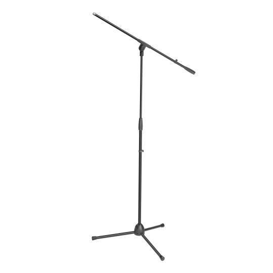 S 5 BE Mikrofonständer mit Schwenkarm schwarz