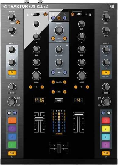Traktor Kontrol Z2 DJ Mixer und Controller