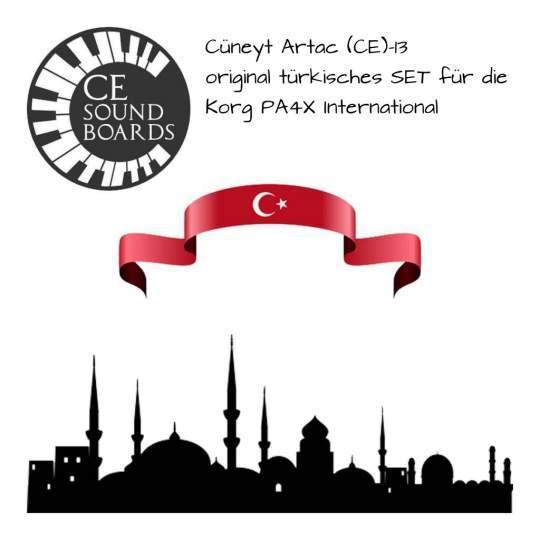 Cüneyt Ertac TR13 SD für Korg PA4X international
