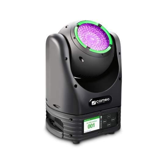 MOVO BEAM Z100 Moving Head LED-Ring Endlos-Drehung Zoom