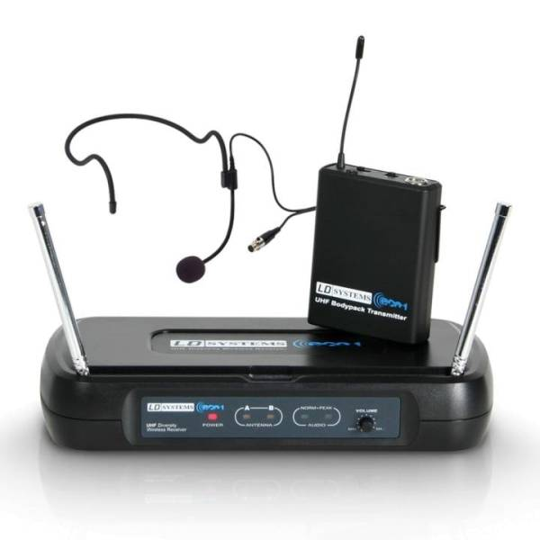 ECO 2 BPH 1 Funkmikrofon System mit Belt Pack und Headset
