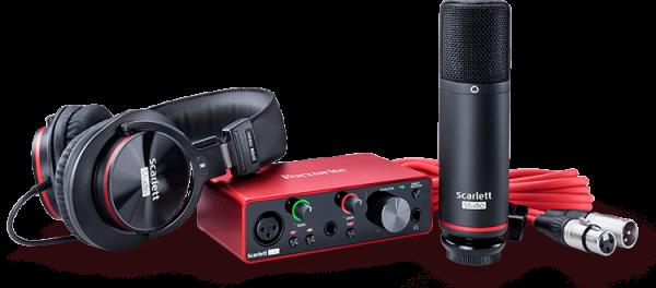 Scarlett Solo Studio (3rd Gen) USB Audiointerface Recording