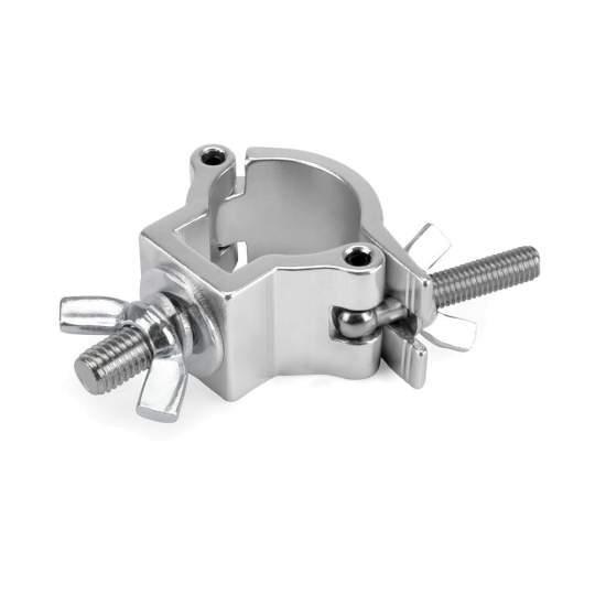 RIG 400 200 960 Halfcoupler klein silber bis 75 kg (32 - 35 mm)