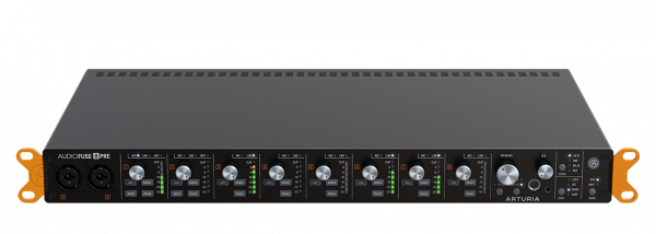 AudioFuse 8Pre High-End 19Zoll AudioInterface 8 Discrete PRO Mic Preamps