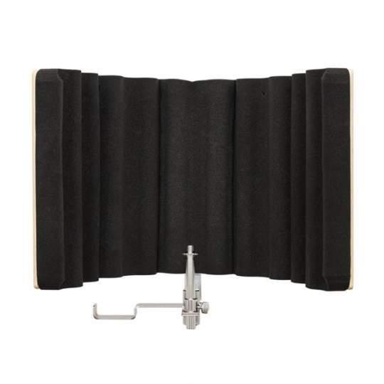 MA-50W Mikrofonfilter aus Holz inkl Kopfhörerhalter