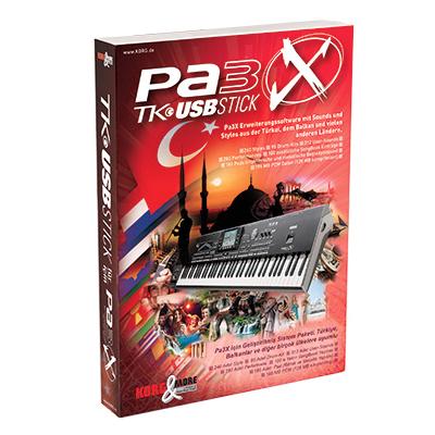 PA-3X TK USB-Stick USB-Stick für PA-3X Modelle