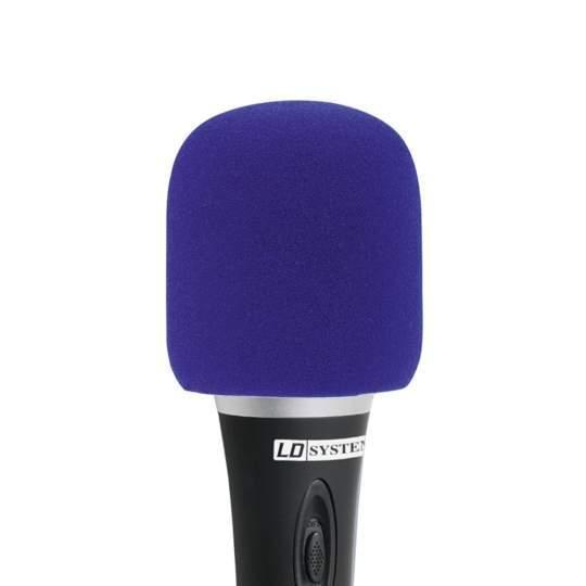 D 913 BLU Windschutz für Mikrofone blau