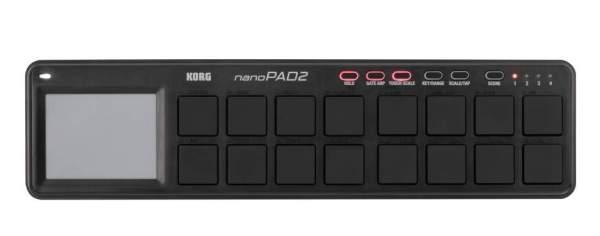 nanoPAD2, 16 Pads, schwarz