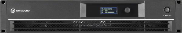 L2800FD 2x1400W DSP Leistungsverstärker