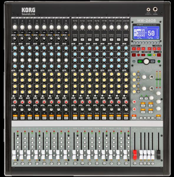 MW-2408 Mixer, Hybrid, 24 Kanäle