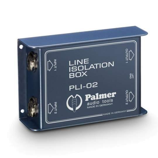 PLI 02 Line Isolation Box 2 Kanal
