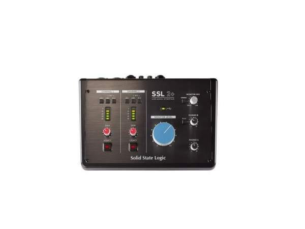2+ Audio Interface auf USB-C 2/4-Kanal Low-Noise Interface