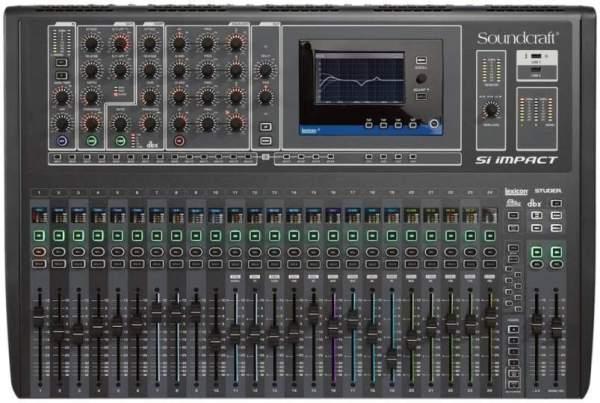 SI Impact Digitaler Mixer mit Recording Interface und IPad Steuerung