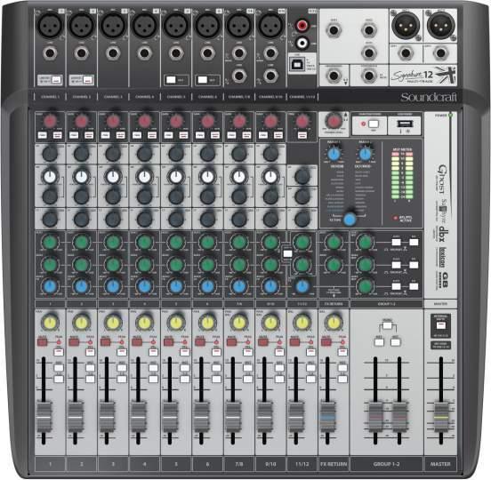 Signature 12 MTK mit PC-Recording Funktion