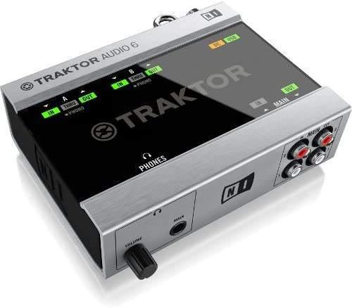 Traktor Scratch A6 DJ-System